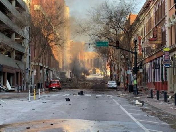 Ontploffing Nashville: dader omgekomen