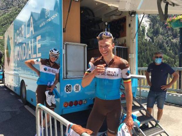 Oliver Naesen gaat naar de Tour en denkt aan EK