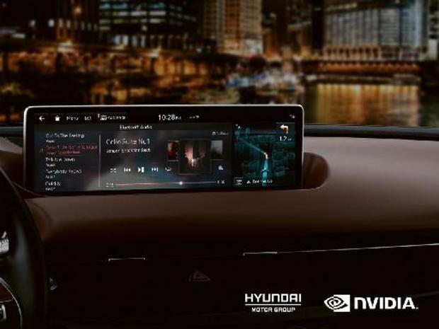Hyundai integreert Nvidia technologie