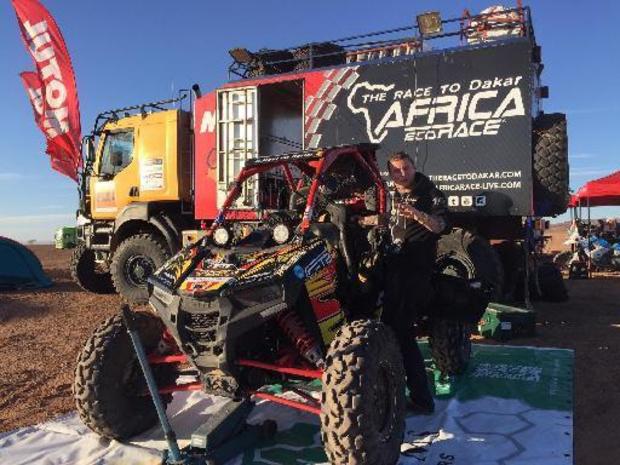 Botturi en Martin eindwinnaars Africa Eco Race, Geoffroy Noel de Burlin haalt de finish