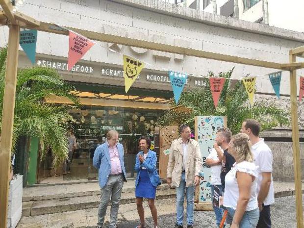 Le premier Brussels Terrace Award décerné au food market Wolf dans le centre de Bruxelles
