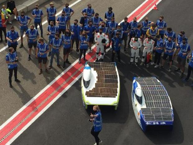 Belgen winnen Europees Kampioenschap voor zonnewagens