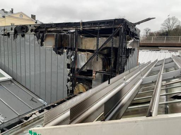 """""""L'ampleur des dégâts du bâtiment s'annonce considérable"""", estime Bozar"""