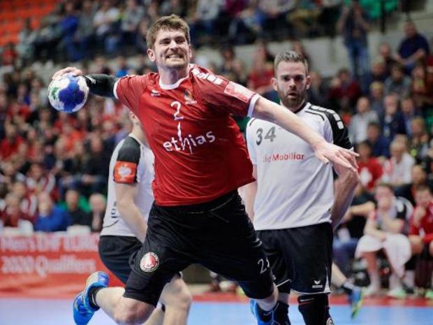 Kwal. EK handbal 2022 - Red Wolves plaatsen zich eenvoudig voor laatste kwalificatieronde