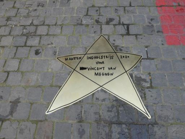 Ludieke literaire Walk of Fame in Antwerpen verwijderd na Joods protest