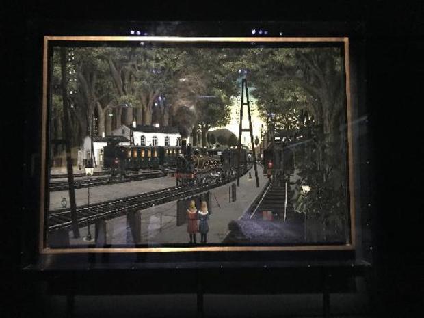 """L'exposition """"Paul Delvaux - L'homme qui aimait les trains"""" inaugurée à Train World"""