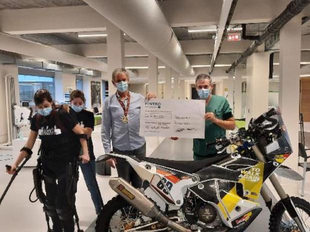 Dakar 2021 - Walter Roelants schenkt bijna vijftigduizend euro aan To Walk Again