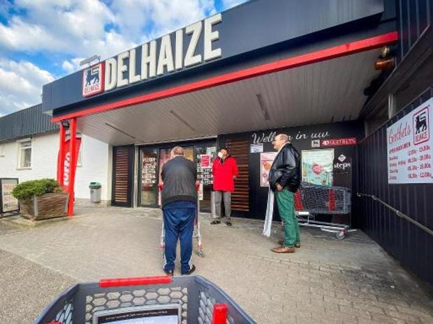 """Delhaize geeft """"solidariteitskorting"""" van 5 procent"""