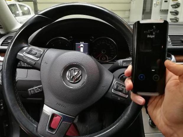 Duitse verzekeraars: standaard een alcoholslot in nieuwe auto's