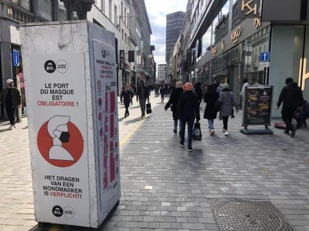 Brusselse premie voor contactberoepen en niet-essentiële winkels