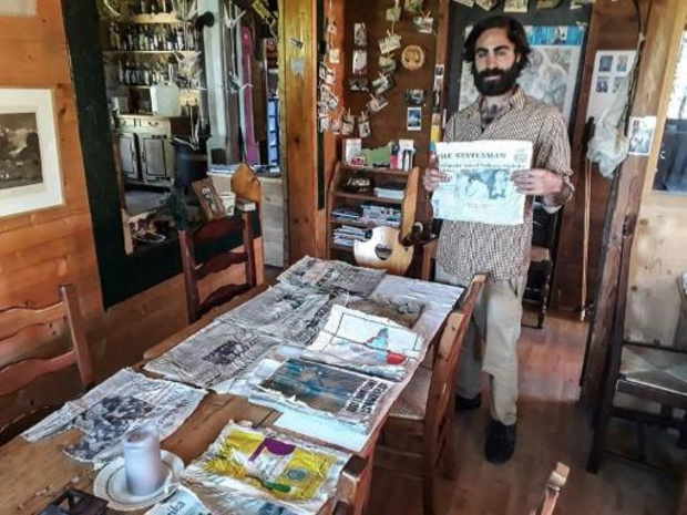 Des journaux, vestiges du crash d'Air India en 1966, retrouvés sur le Mont-Blanc