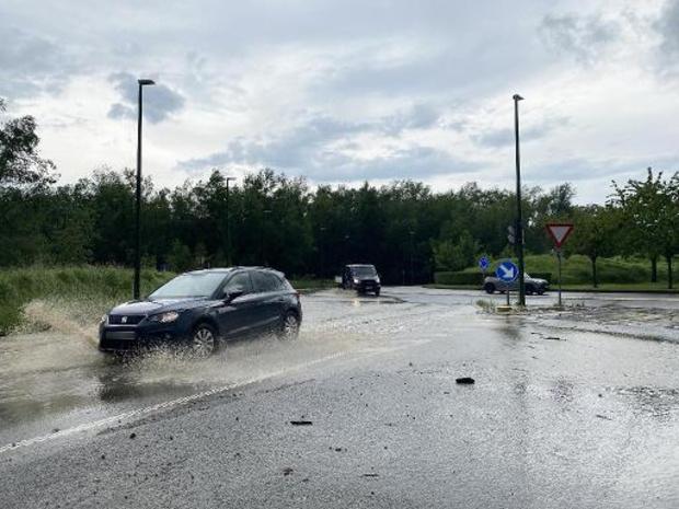 Près de 120 interventions en Wallonie picarde dues aux fortes pluies