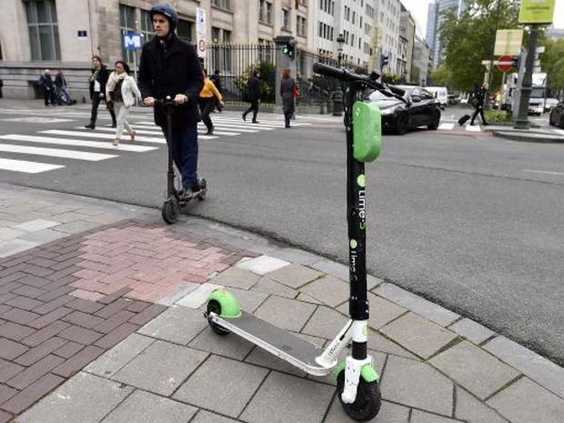 Lime-deelsteps vanaf morgen in Antwerpse straatbeeld te zien