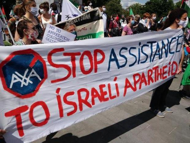 Brusselse politie opent onderzoek naar antisemitische uitlatingen op Palestijnse betoging