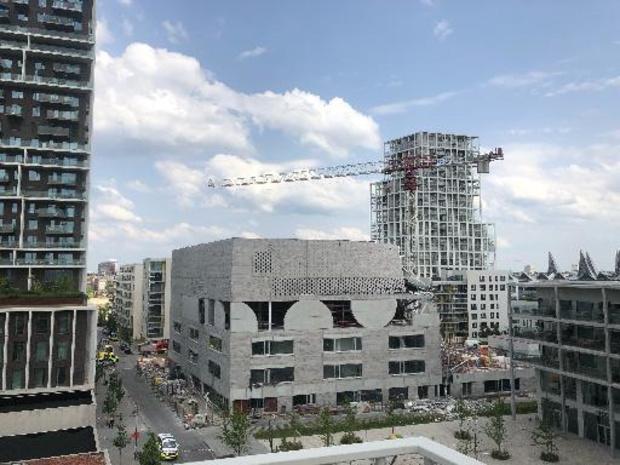 Plusieurs victimes dans l'effondrement d'une nouvelle construction à Anvers