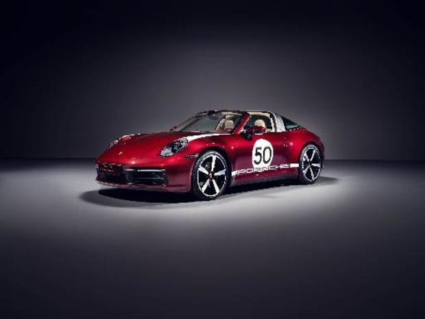 911 Targa 4S Heritage Design Edition: fifties look