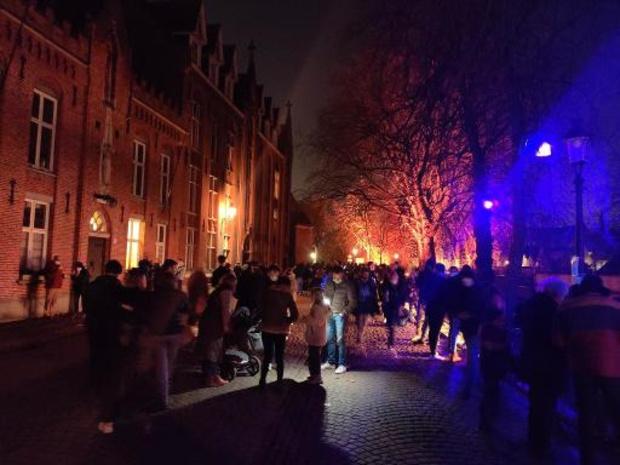 """Geen Wintergloed in Brugge zondagavond, """"eerst moeten we maatregelen nemen"""""""