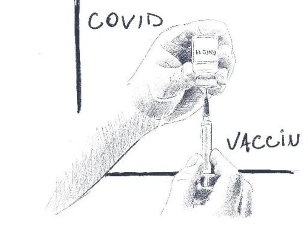 Coronavirus - Une grande majorité des Européens déjà vaccinés ou désireux de l'être rapidement