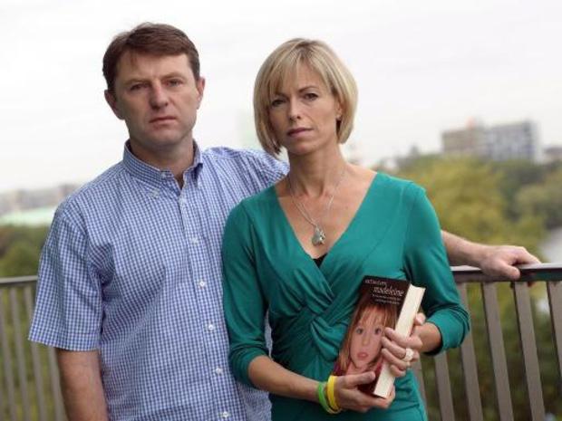 Ouders Madeleine McCann krijgen brief dat ze dood is