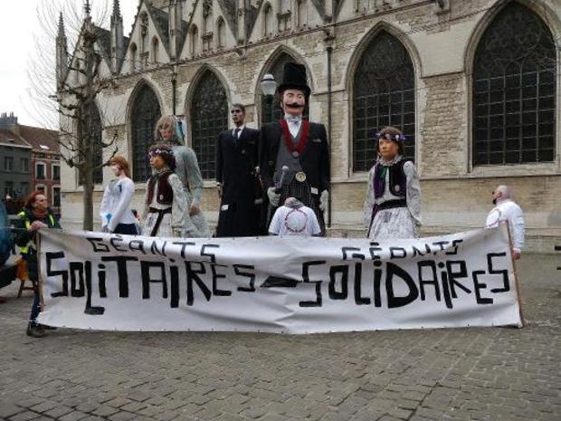 Folklore: des géants de sortie ce dimanche en faveur de la culture populaire