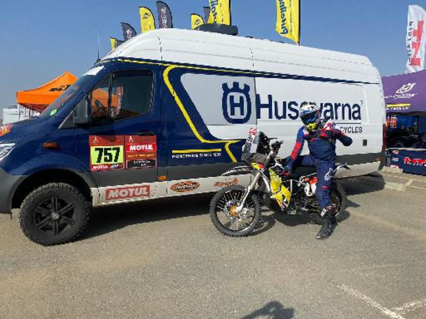 Walter Roelants entame son premier Dakar tranquillement