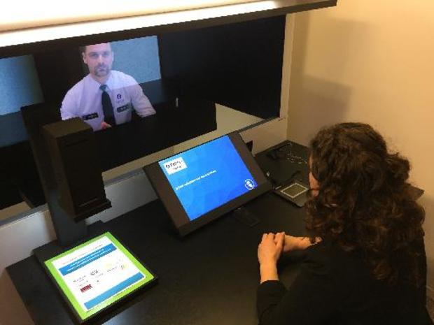 Eerste virtuele politieloket van Belgie staat in Houthalen