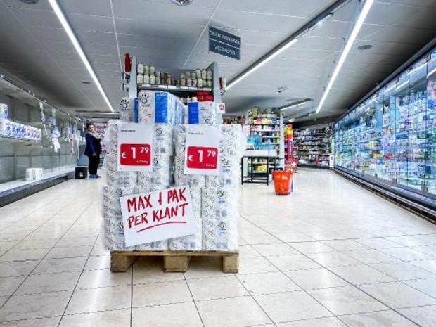 Situatie normaliseert in supermarkten