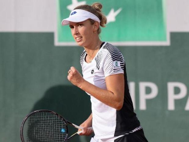 """WTA Linz - Elise Mertens: """"Blij dat ik in de laatste finale van het seizoen sta"""""""