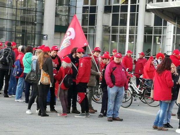 Quelque 10.000 militants attendus mardi à Bruxelles à la manifestation de la FGTB