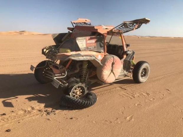 """Gotlib, 40e du général en véhicules légers: """"Un Dakar avec beaucoup de bons souvenirs"""""""