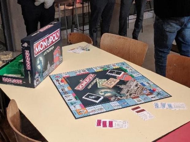 Antwerpen heeft opnieuw een eigen Monopoly-spel