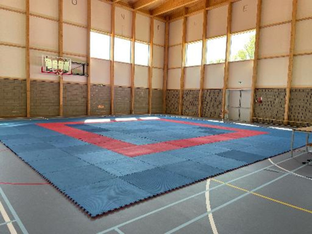 Un nouveau centre d'entraînement pour la Fédération francophone de Karaté à Loverval