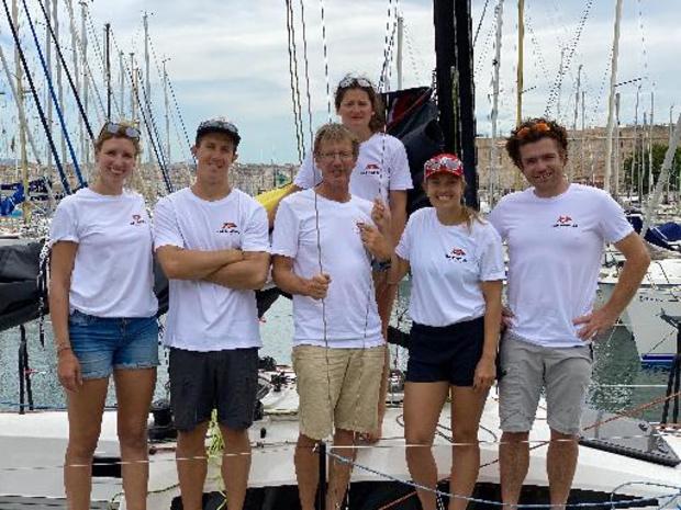 Sophie Faguet choisie pour faire équipe avec Jonas Gerckens dans la course au large