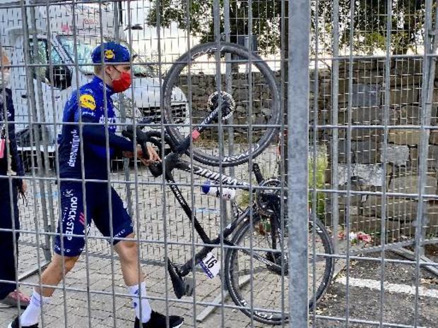 Tour d'Italie - Remco Evenepoel ne prendra pas le départ jeudi de la 18e étape du Giro