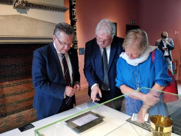 Brugge koopt vijftiende-eeuws vel uit handschrift van Gruuthuse aan
