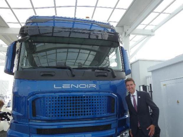 CMB lanceert ook eerste dual fuel truck op waterstof