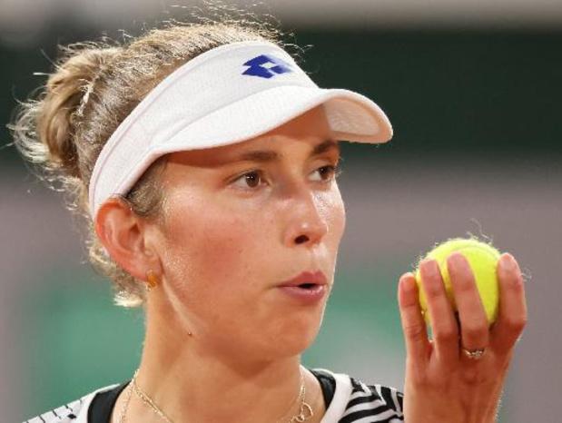 Elise Mertens neemt eerste horde WTA Madrid