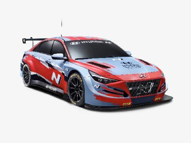 Hyundai ontwikkelt Elantra TCR