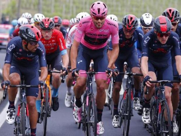 """Ganna craint pour son maillot rose: """"Evenepoel a des jambes fantastiques, chapeau à lui"""""""