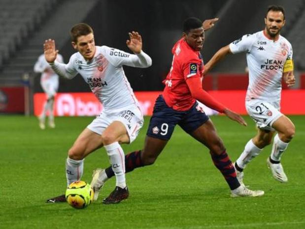 Ligue 1 - Jonathan David débloque son compteur avec Lille
