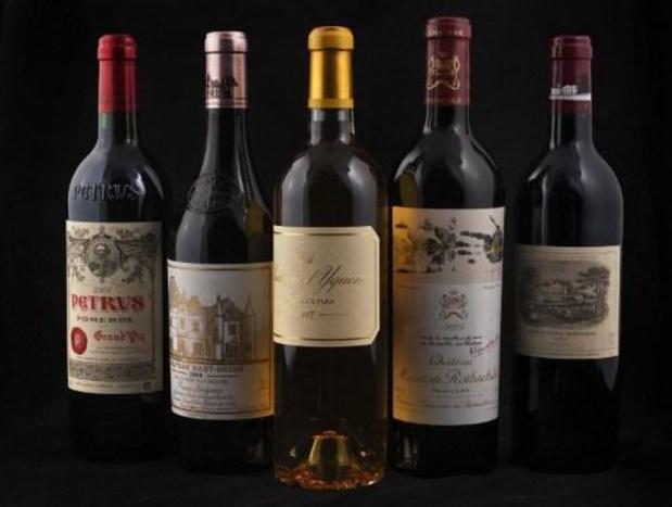 Voor 800.000 euro aan prestigieuze Bordeaux-wijnen gestolen