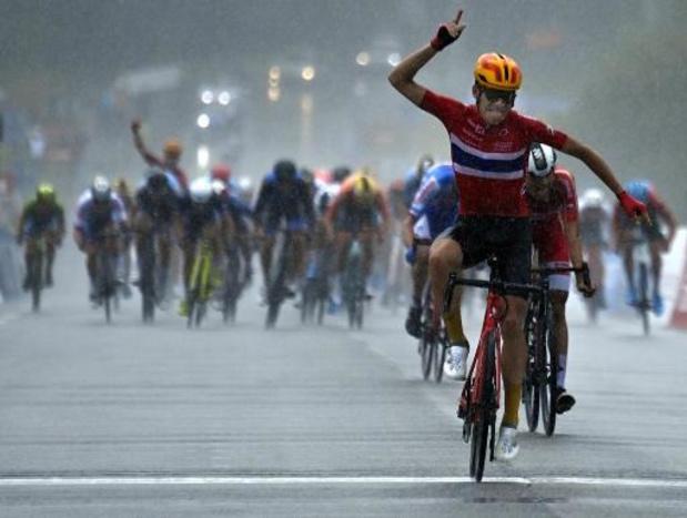 Le Norvégien Jonas Iversby Hvideberg champion d'Europe espoirs de cyclisme, Jordi Meeus 7e