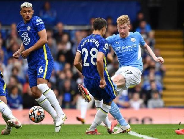 De Bruyne wint met Manchester City topper bij het Chelsea van Lukaku