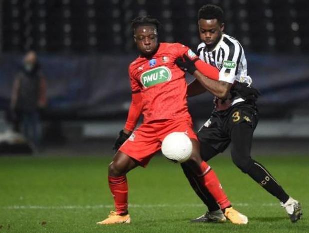 Belgen in het buitenland - Stade Rennais niet opgewassen tegen Angers in Franse beker