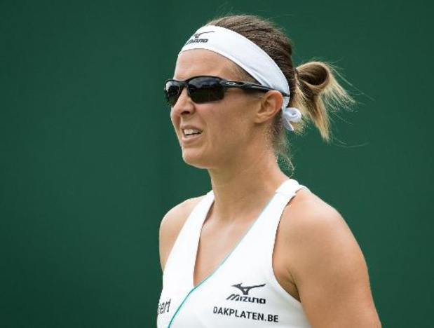 WTA Cincinnati: Kirsten Flipkens heeft geen verhaal tegen Johanna Konta