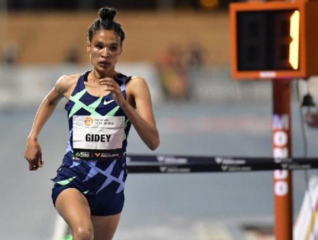 L'Ethiopienne Letensebet Gidey s'empare du record du monde du 10.000 m en 29:01.03