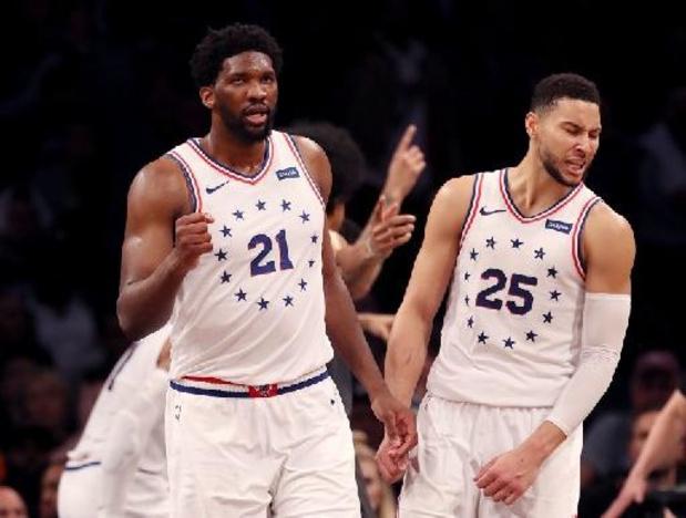 NBA - Retour gagnant pour Joel Embiid avec Philadelphie, cartons pour Portland, New York et Utah