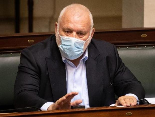 Jean-Marie Dedecker vertrekt uit de Kamer, maar nog niet meteen