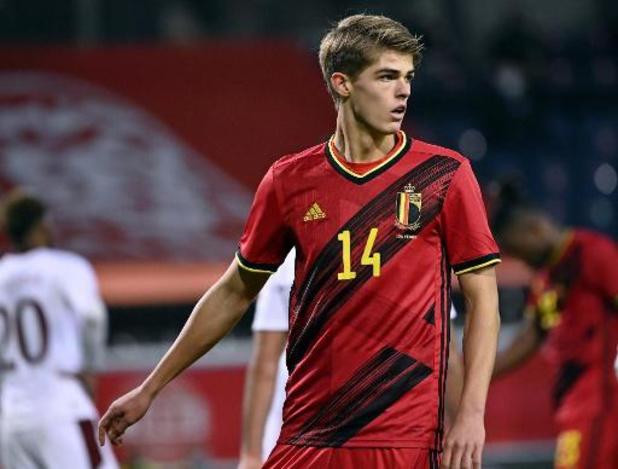 Belgische beloften spelen 2-2 gelijk in oefenmatch tegen Genk