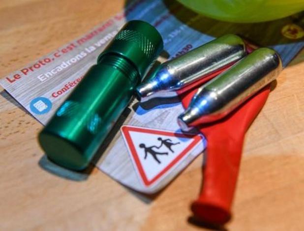Leuven wil lachgasmisbruik aan banden leggen